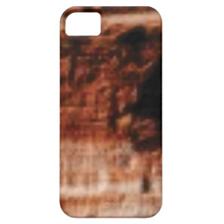 layered red rock cliffs iPhone 5 case