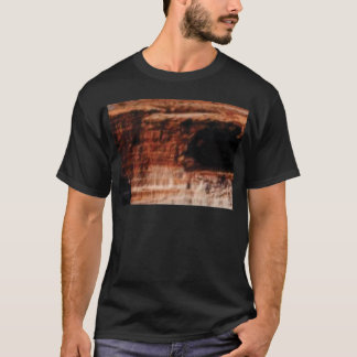 layered red rock cliffs T-Shirt