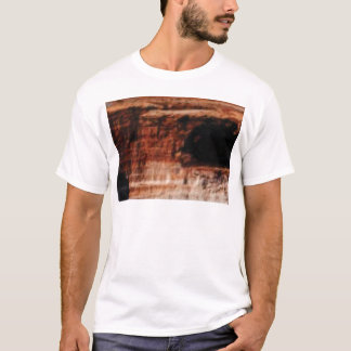 layered red rock cliffs T-Shirt