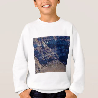 layered rock colors sweatshirt