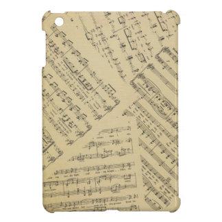 Layered Sheet Music iPad Mini Covers