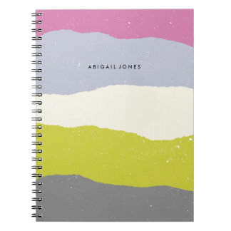 Layers Journal - Chartreuse Spiral Note Book