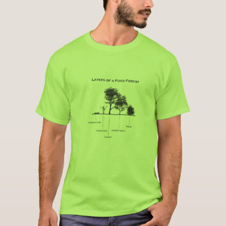 Layers of a food forest Permaculture shirt