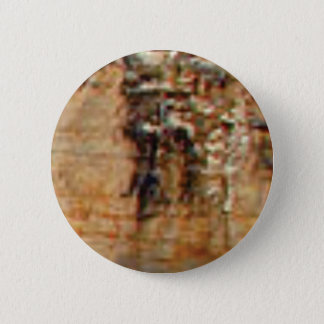 layers of cliff rocks 2 inch round button