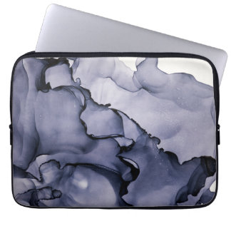 layers of ink - Stormy Abstract Laptop Sleeve