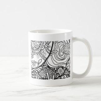 Layery Piles of Doodles Series Coffee Mug