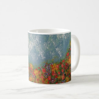 'Laying in a Meadow'.  Beautiful & Tranquil Mug
