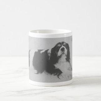 Laying retro dog mug