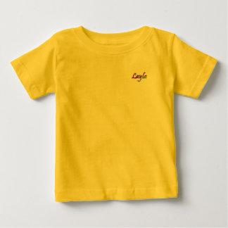 Layla yellow Baby Fine Jersey T-Shirt