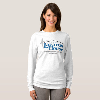 """Lazarus Logo"" Women's Long Sleeve T T-Shirt"