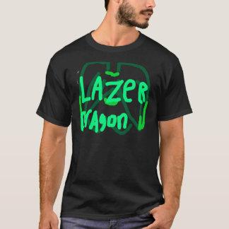 Lazer Dragon Logo green T-Shirt