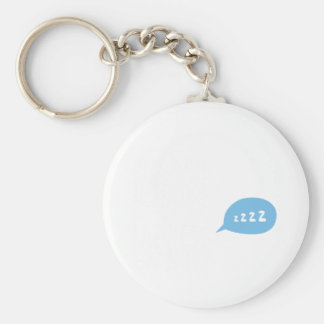 Laziness Pays Off Now Basic Round Button Keychain