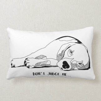 Lazy Beagle Lumbar Pillow
