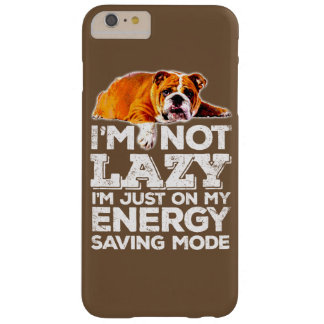 LAZY BULLDOG BARELY THERE iPhone 6 PLUS CASE