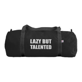 Lazy But Talented Gym Bag