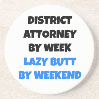 Lazy Butt District Attorney Coaster