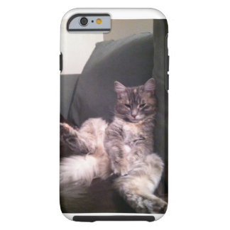 Lazy cat iPhone case