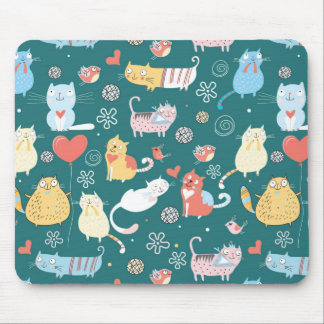 Lazy Cats Mouse Pad