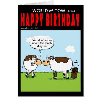 Lazy Cow Card