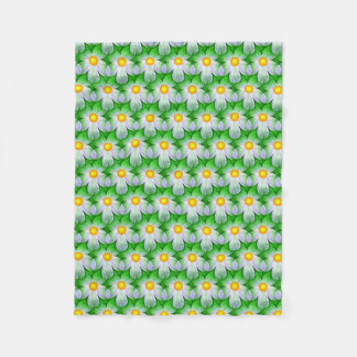 Lazy Daisy Fleece Blanket