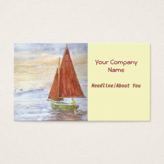 'Lazy-day Sail' Profile Card