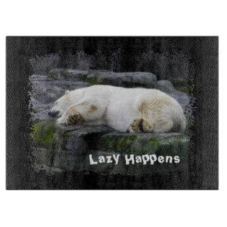 Lazy Happens Polar Bear Boards