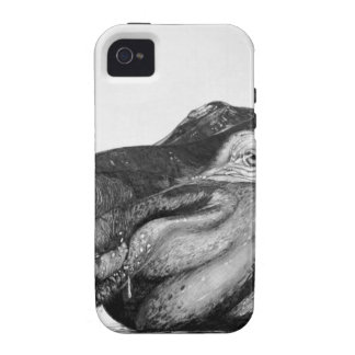 Lazy Hippo iPhone 4/4S Case