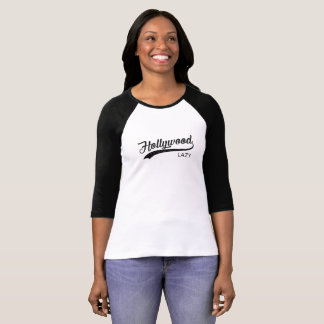 Lazy Hollywood Vintage Womens T-Shirt