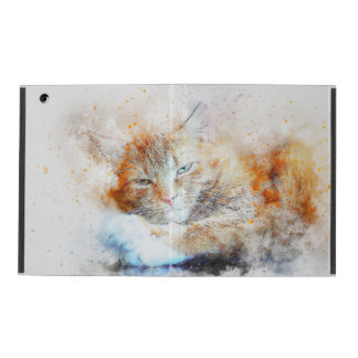 Lazy Kitty iPad Folio Case