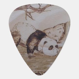 Lazy Panda Bath Guitar Pick