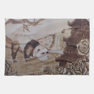 Lazy Panda Bath Kitchen Towel