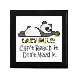 Lazy Panda Gift Box