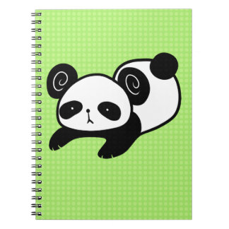 lazy panda notebook