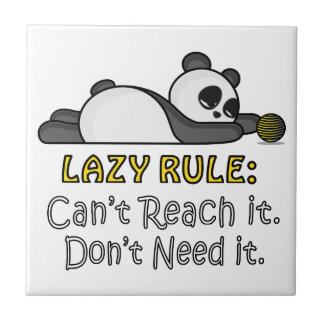 Lazy Panda Tile