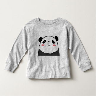 Lazy Panda Toddler T-shirt