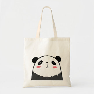 Lazy Panda Tote Bag