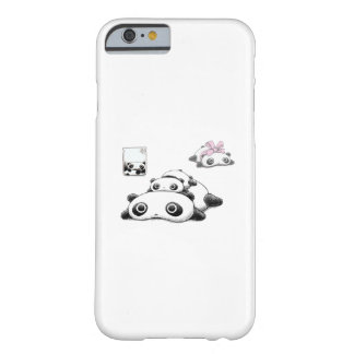 Lazy Pandas Barely There iPhone 6 Case