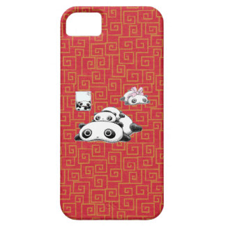 Lazy Pandas iPhone 5 Cases