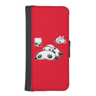Lazy Pandas iPhone 5 Wallet