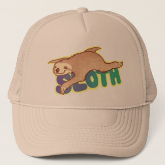Lazy Sloth Trucker Hat