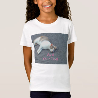 Lazy Street Nap Kitty T-Shirt