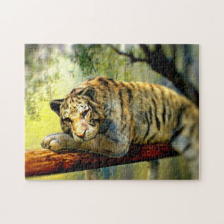 Lazy Tiger Jigsaw Puzzle