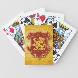 LBB Playing Cards Gold tone