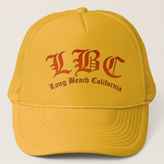 LBC - Long Beach California Trucker Hat