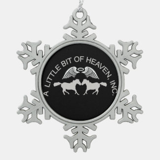LBH Christmas Snowflake Pewter Christmas Ornament