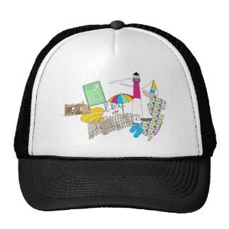 LBI Love Girly Collage Trucker Hat