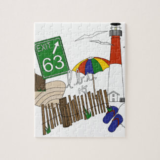 LBI Love Primary Color Collage Jigsaw Puzzle