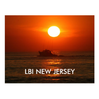 LBI NEW JERSEY POSTCARD