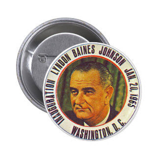 LBJ Inauguration 1965 - Button