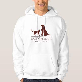 LCAR Men's Basic Hooded Sweatshirt